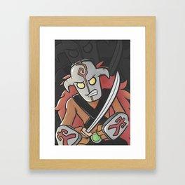 Juggernaut Cartoon Framed Art Print