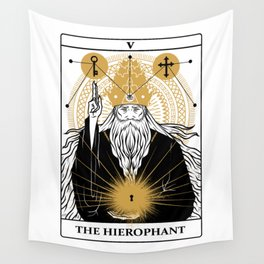 The Hierophant Wall Tapestry