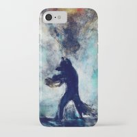 rocket raccoon iPhone & iPod Cases featuring Rocket Raccoon by Luca Leona