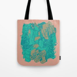 Graphic Junk Tote Bag