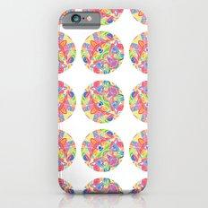 Kaleidoscopic Circles Slim Case iPhone 6s