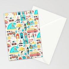 Surfer Girls Stationery Cards