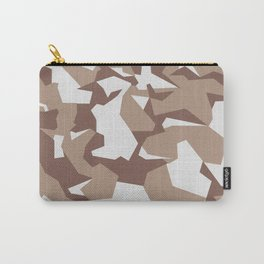 Camouflage Splinter Pattern Desert Carry-All Pouch