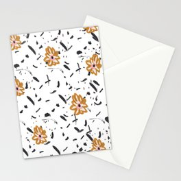 Daisy. Illustration, flowers, print, design, pattern, floral, fashion, drawing, Stationery Cards