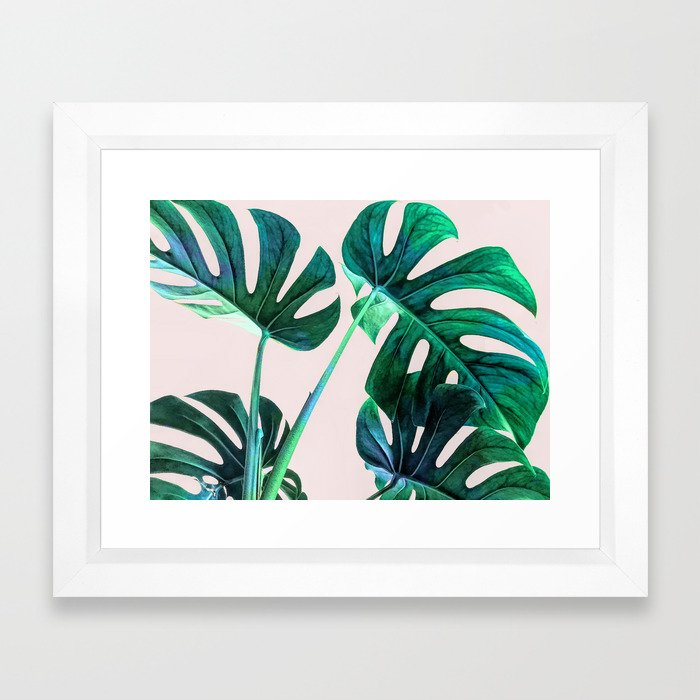 Wild Leaves Framed Art Print