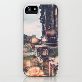 Edinburgh in Bloom iPhone Case