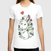 clover T-shirts featuring Clover Bunny by Freeminds