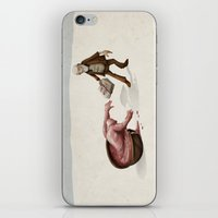 evolution iPhone & iPod Skins featuring Evolution by Lee Grace Illustration