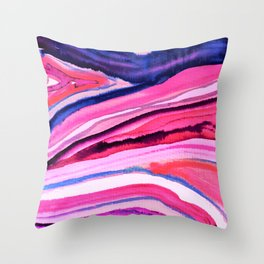 new waves 2 Throw Pillow
