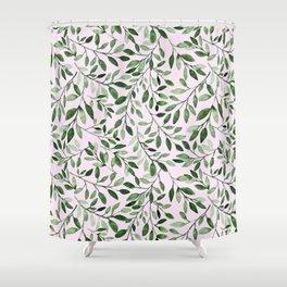 Blushing Ivy Shower Curtain