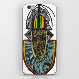 African Rasta iPhone Skin