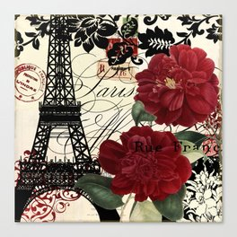 Parisienne Canvas Print