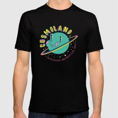 cosmoland 01 Mens Fitted Tee 2X-LARGE Black