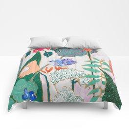 Speckled Garden Comforters
