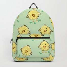 Lil Chicks Pattern Backpack