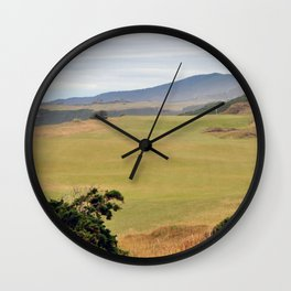 Pacific Dunes Wall Clock