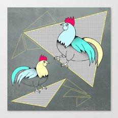 Coq français - French rooster Canvas Print