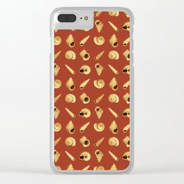 SEASHELLS Clear iPhone Case