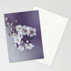 Flower in the mist Stationery Cards