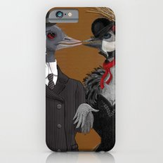 Demoiselle Crane and Grey Crowned Crane Slim Case iPhone 6s