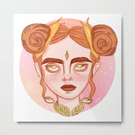 Gstrpd Metal Print
