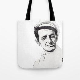 Woody Guthrie Tote Bag