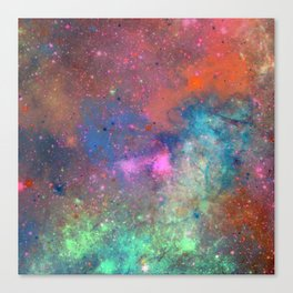 Beauty In Space Canvas Print