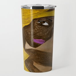 LA MODELO AFRICANA by Maricela del Rio Travel Mug
