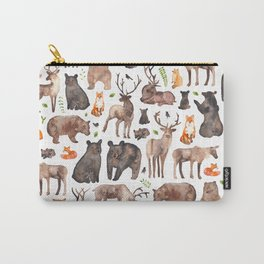 Woodland Animals Carry-All Pouch