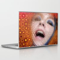 bjork Laptop & iPad Skins featuring Bjork by Artstiles