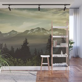 Morning in the Mountains Wall Mural