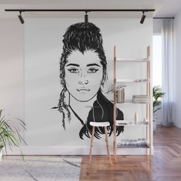 Lauren Jauregui/Mulan Original Design Digital Painting Wall Mural