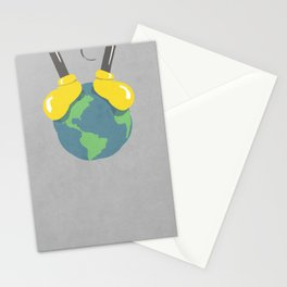 it is a small world after all (mouse version) Stationery Cards