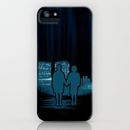 You met me at a very strange time in my life. iPhone Case