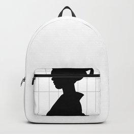 Geisha Silhouette Art Series 1 Backpack