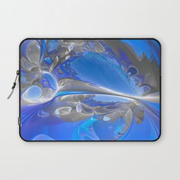 Cobalt Caverns Redux Laptop Sleeve