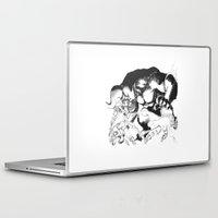 berserk Laptop & iPad Skins featuring Guts & Griffith vs Zodd by Vortha