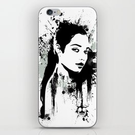 A Girl iPhone Skin