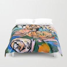 Vibrant Floral Duvet Cover