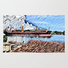 The Cienfuegos Bay de Cuba Rug