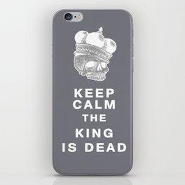 Keep calm II iPhone Skin