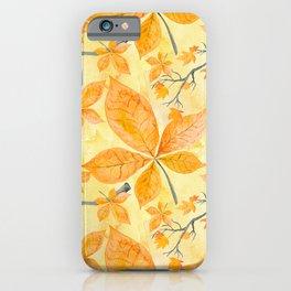 Autumn leaves #11 iPhone Case