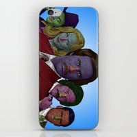 anchorman iPhone & iPod Skins featuring Anchorman by CultureCloth