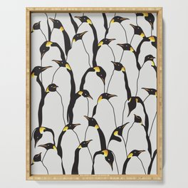 Penguin Patch Serving Tray