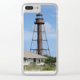 Sanibel Island Light Clear iPhone Case
