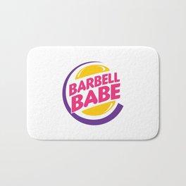 Barbell Babe Bath Mat