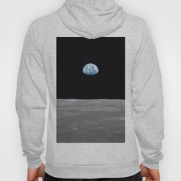 Earth rise over the Moon Hoody