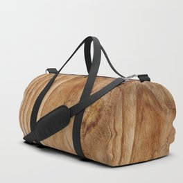 Natural Wood Texture for Wood Artworks Lovers. Duffle Bag