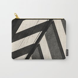 NOIR ABSTRACT / Beams Carry-All Pouch