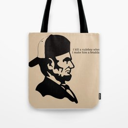 Badman Abraham Tote Bag